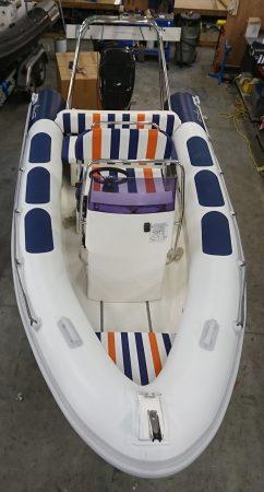 Ribeye 5 rigid inflatable boat refurbished