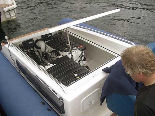 Arctic Boat Stepped Hull RIB