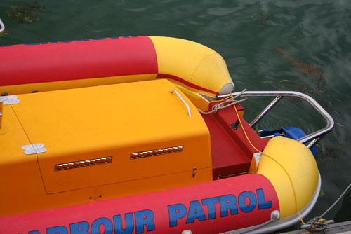 Carbon Index Cowes Harbour Patrol RIB