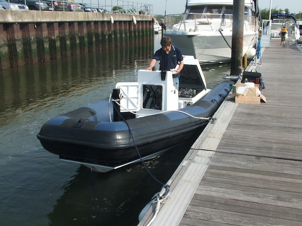 Carson RIB Tubes for Marine Developments