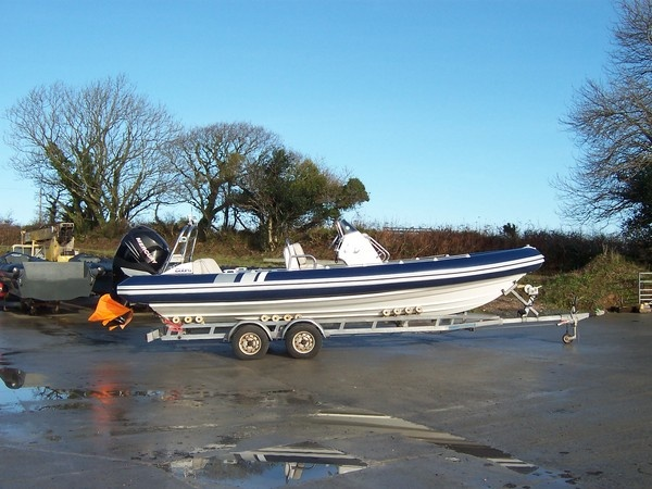 Another view of a cobra 7.5 mtr having been retubed at TIDEL's factory in Devon