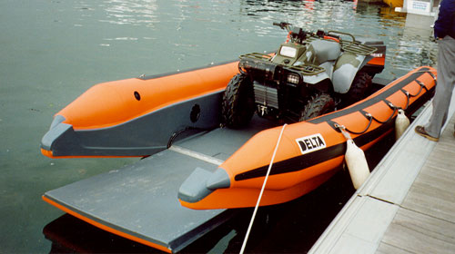 Delta landing craft