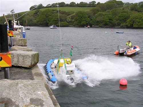 Explorer Marine RIB Drop Test