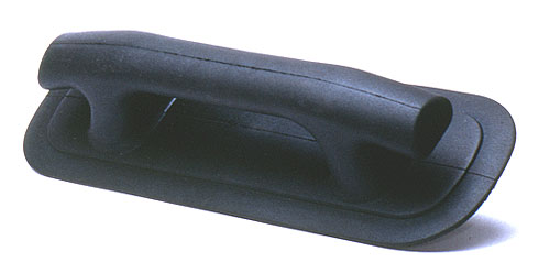 Rib Cleat Handle Black Rubber