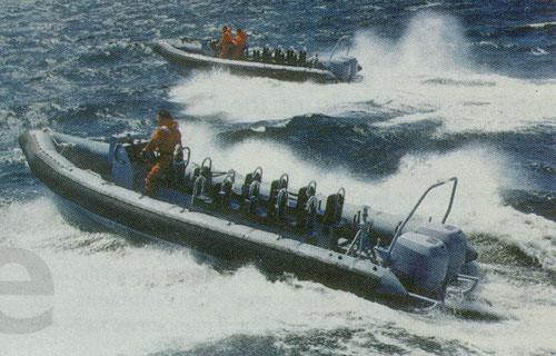 Halmatic Artic 28 Military RIB Boat