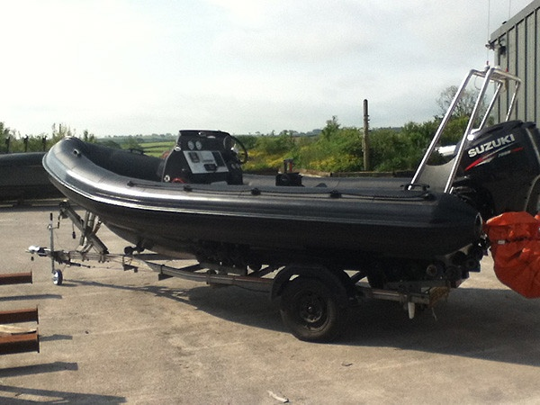 Humber RIB Tubes 5.5 mtr 2012 Olympic 49ers Safety Boat