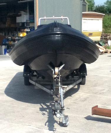Humber 5.5 mtr RIB Retube
