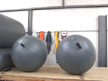 Spherical Inflatable Fenders