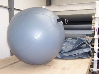 Large Spherical Inflatable Fenders