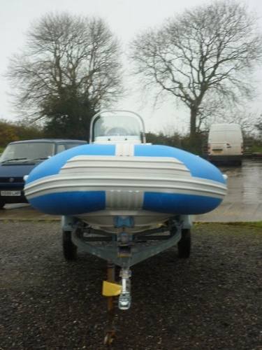 Malasian Paralympic Team safety boat retubed by tidel for sale