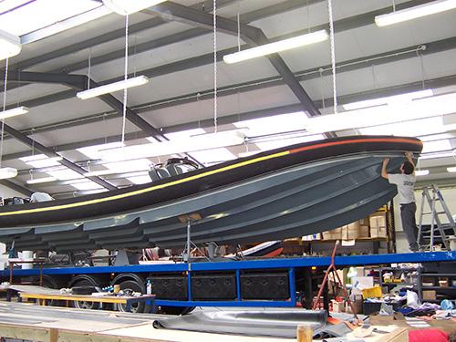 Navatek RIB bow design