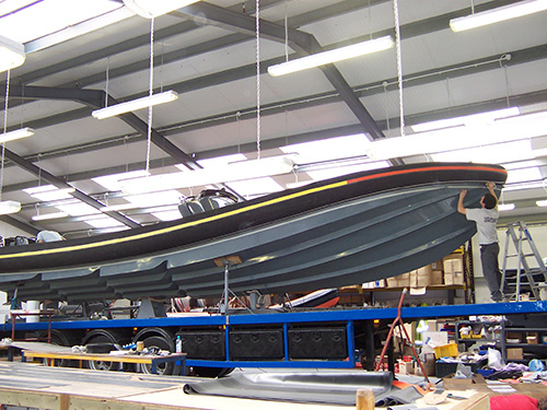Navatek Stepped Hull RIB