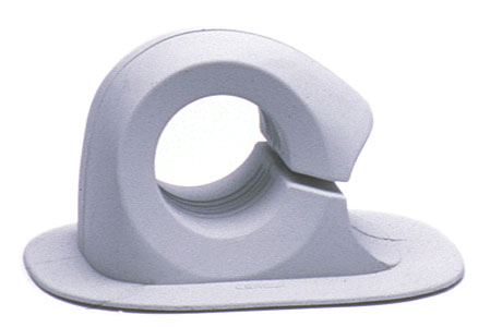 Rib Paddle Holder Light Grey Rubber