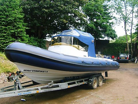 Redbay Boats Stormforce 7.4 mtr RIB Retube