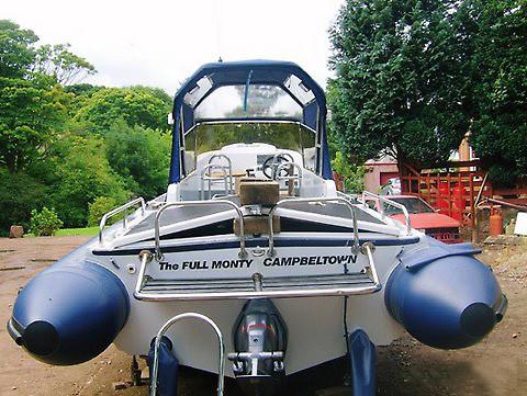 Redbay Boats Stormforce Retube