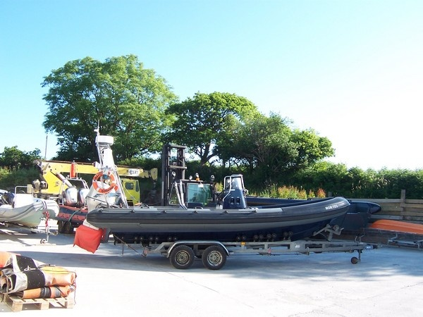 """""""Morteg"""" a Ribtec 7 mtr tubed from new by TIDEL for the Environmental Agency"""