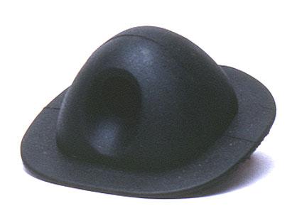 Rib Lifeline Holder Black Rubber