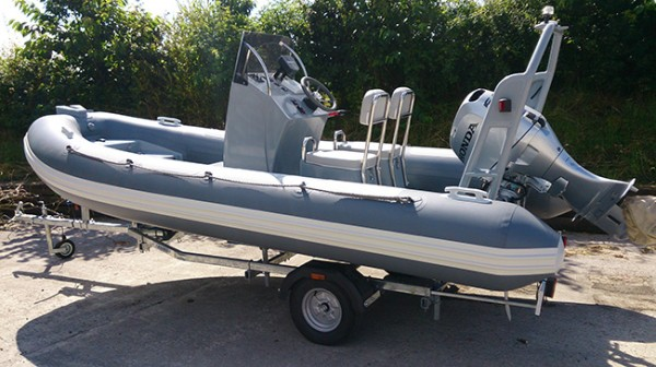 Sea-Swift Highfiled Ocean Master 460 Hypalon Tubes