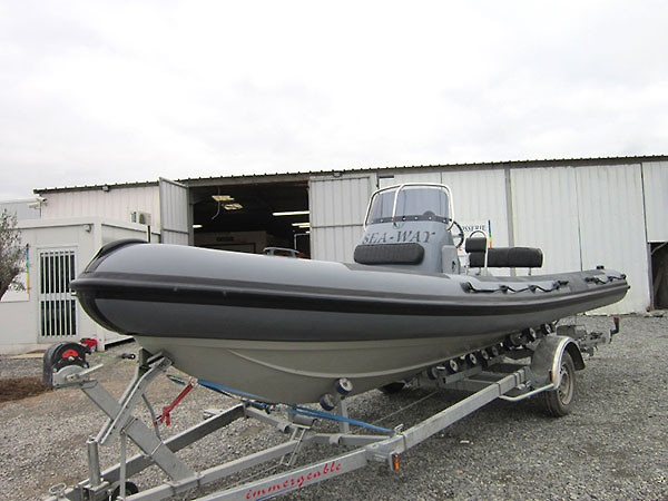Sea-Way 650 RIB Rubbing Strakes