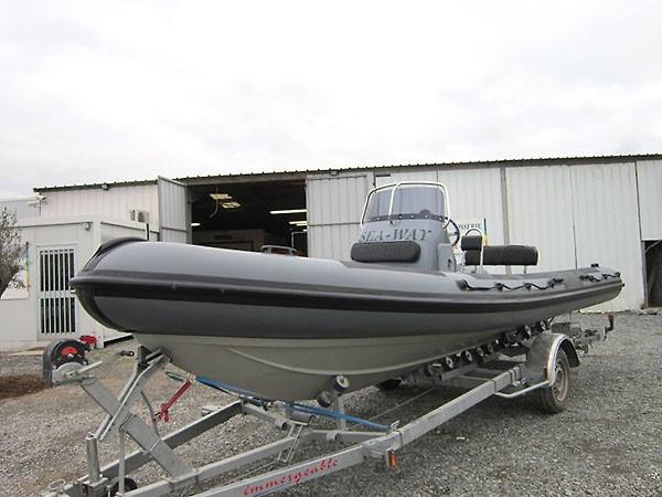 Sea-Way 650 RIB Rubbing Strakes