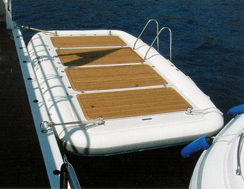 Inflatabe Bathing Platform - Stirling Reed