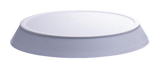 Rib Tube Cone End Light Grey