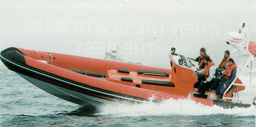 Vector Marine Search Rescue RIB