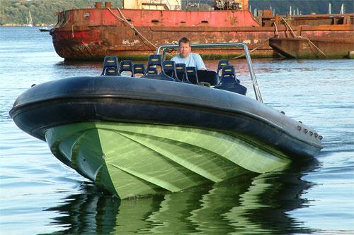 V-Type 10 mtr Work Boat