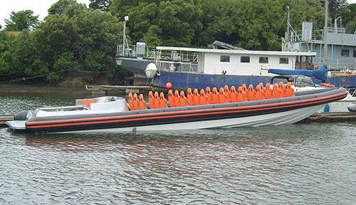 V-Type 14 mtr Work Boat