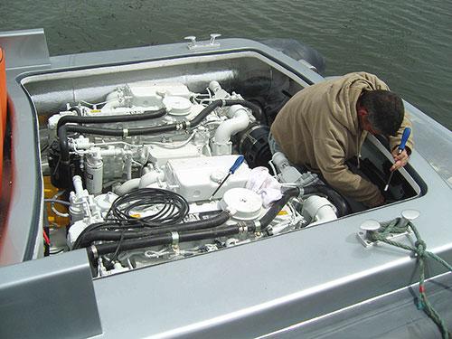 V-type RIB Inboard Engines