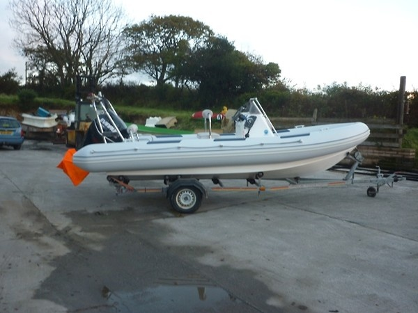RIB-X 640 retubed for towergate marldon as an insurance claim